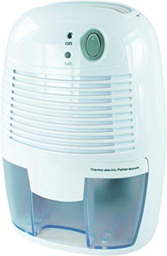 ELRO Mini-Luftentfeuchter/ 500 ml Wassertank/ (250ml pro Tag) für Zimmer, Schrank, Büro, Keller, Wandschrank, DH250