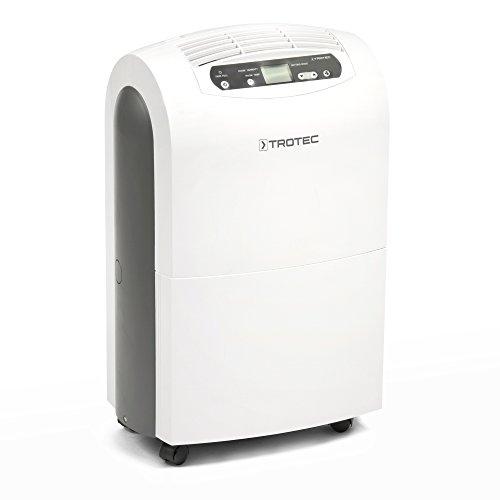 TROTEC Komfort Luftentfeuchter TTK 100 E (max.30 L/Tag), geeignet für Räume bis 230 m³ / 90 m²