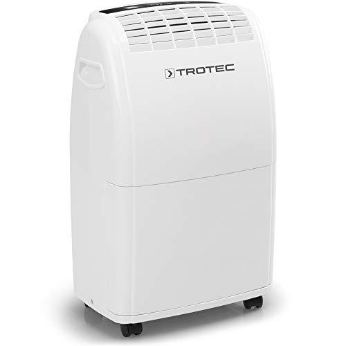 TROTEC Komfort Luftentfeuchter TTK 75 E (max.20 L/Tag), geeignet für Räume bis 110 m³ / 45 m² Raumentfeuchter Entfeuchtung Kellerentfeuchter Trockner Trocknung